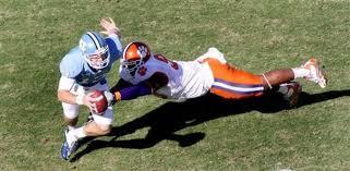 2011 NFL Draft Defensive End Da'Quan Bowers Clemson Sack